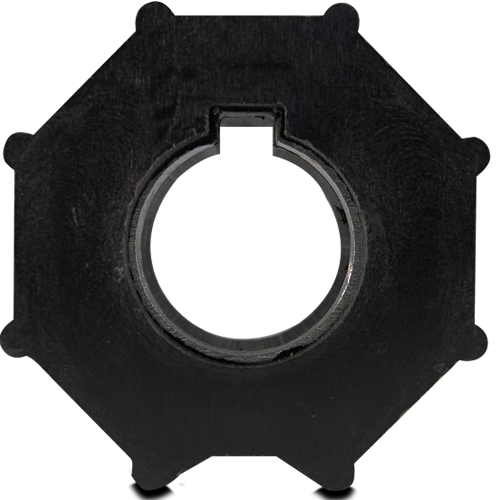 RUEDA DE TRANSMISIÓN SG59 TUBO OCTOGONAL 70mm