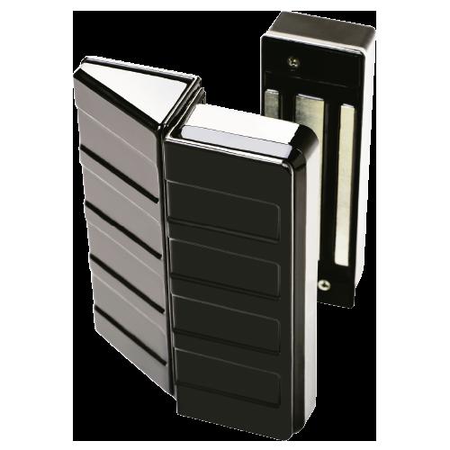 Cerradura electromagnetica 600 kg. Plata